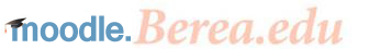 Logo of Moodle.Berea.edu